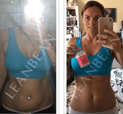 Leanbean Progresso prima e dopo